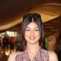 Bollywood actress Ayesha Takia at the film promotion of ''Pathshala'' at Cinemax