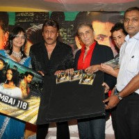 Jackie Shroff and Aditya Raj Kapoor at Mumbai 118 Music Launch at Rennaisance Club