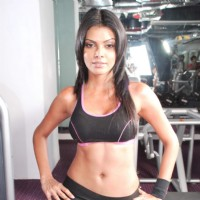 Photographer Vishal Saxena shoots a fitness photoshoot with Sherlyn Chopra