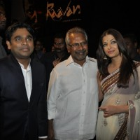 A R Rahman and Aishwarya Rai Bachchan at ''RAAVAN'' movie music launch | Raavan Event Photo Gallery