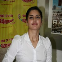 Bollywood actress Katrina Kaif at a promotional event of ''Rajneeti'' on Radio Mirchi at Lower Parel | Raajneeti Event Photo Gallery