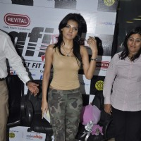 Sheryln Chopra launches Bigadda Get Fit India at Bandra on Mumbai