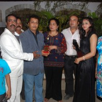 TV actress Reema Lagoo Celebs at the success bash of Marathi film ''Janma'' at Blue Waters