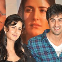 "Katrina Kaif and Ranbir Kapoor at a press meet for film ""Rajneeti"" in JW Marriott, Mumbai 