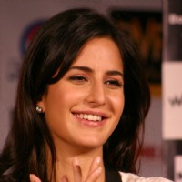 "Katrina Kaif at a press conference for her film ""RAJNEETI"",in New Delhi 