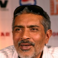 "Bollywood director Prakash Jha at a press conference for his film ""RAJNEETI"",in New Delhi on Thursday 