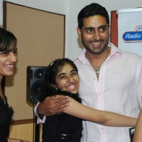 Abhishek at Radio City to promote Raavan | Raavan Event Photo Gallery