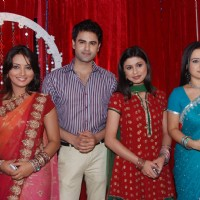 Star Pariwar artists at grand finale of Zara Nachke Dikha at Film City