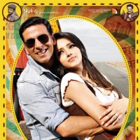 Khatta Meetha(2010) movie poster with Akshay and Trisha | Khatta Meetha(2010) Posters