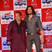 Sonu and Omi Vaidya at Star Plus Chote Ustad launch at Sea Princess