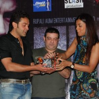Mugdha Godse and Bobby Deol at ''Help'' film music launch in Inorbit Mall | Help Event Photo Gallery