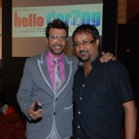 Javed Jaffery at music launch of the movie Hello Darling | Hello Darling Photo Gallery
