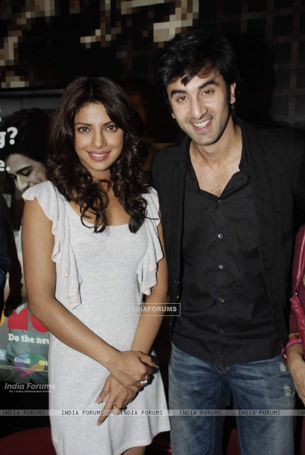 Ranbir Kapoor and Priyanka Chopra spend time Cancer Aid & Research Foundation kids at PVR