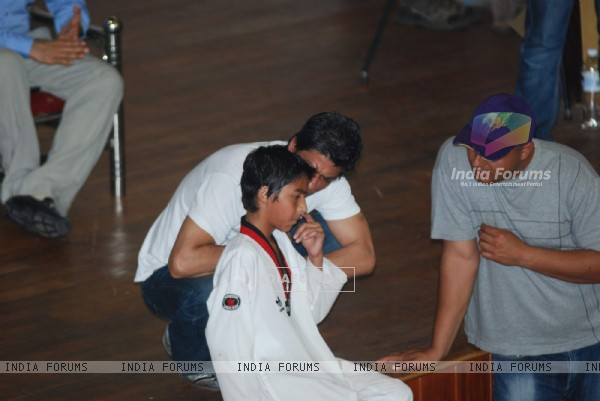 Shahrukh Khan at 6th National Taekwondo Competition 2010 Juniors & Sub Juniors