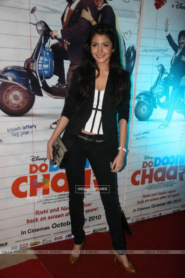 Anushka Sharma at Do Dooni Chaar premiere
