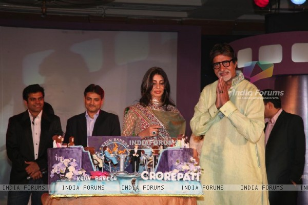 Mr.Amitabh Bachchan's birthday bash on behalf of Sony Entertainment Television