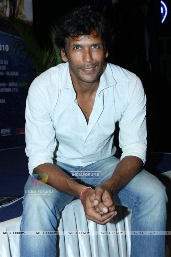 Milind Soman at Music Launch of Movie 27_13.20 Nakshatra at The Ultimate, Mumbai