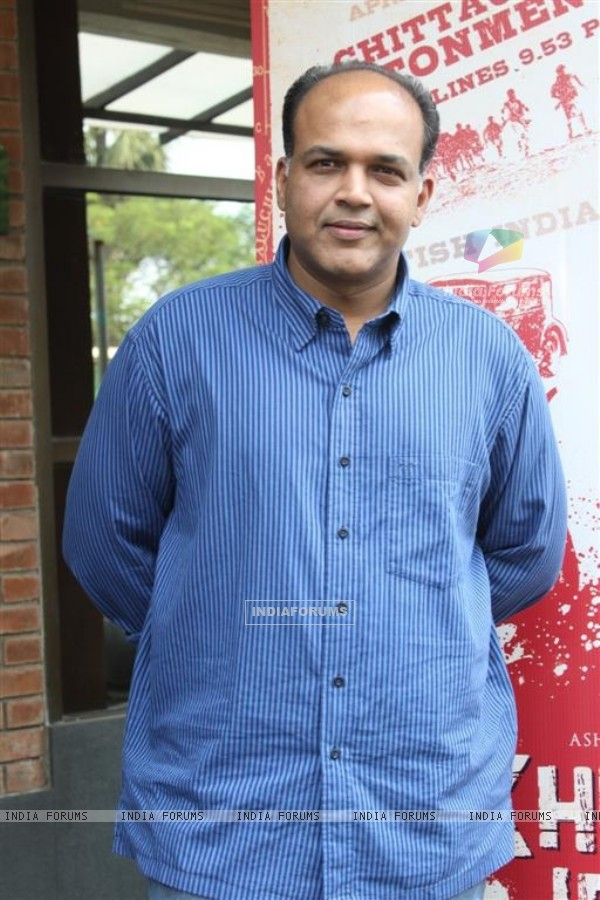Ashutosh Gowarikar at First Look Launch of film 'Khelein Hum Jee Jaan Sey' at Goregaon, Mumbai