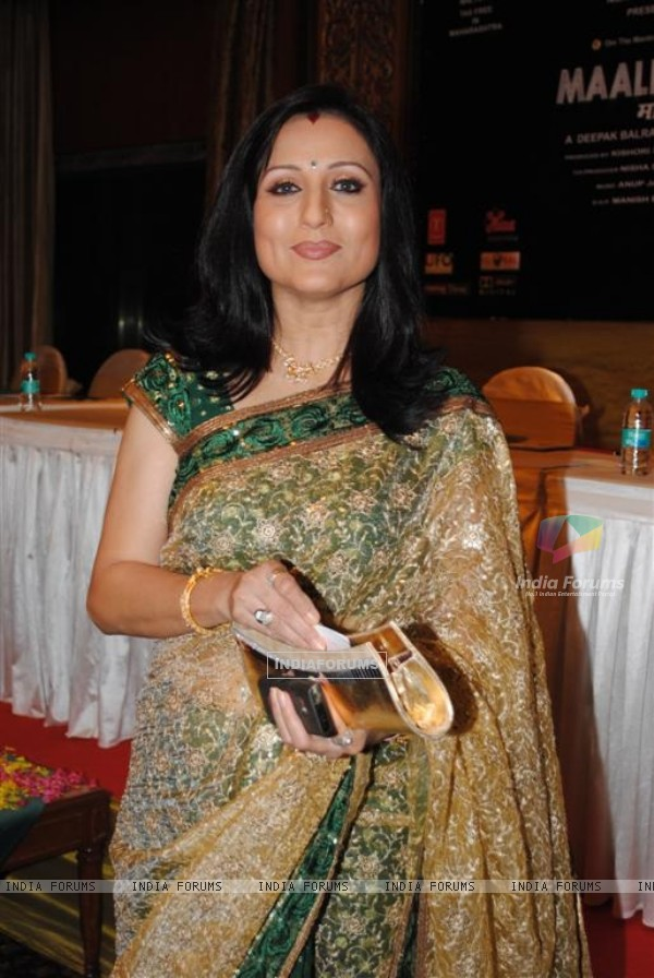 Kishori Shahane at Music Launch of Maalik Ek Sea Princess, Mumbai