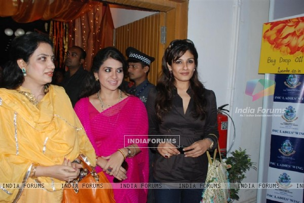Raveena Tandon at IMC Ladies Diwali Exhibition