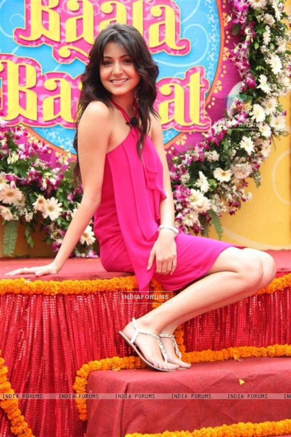 Anushka Sharma at Press conference & first look launch of Yash Raj Film's Band Baaja Baaraat
