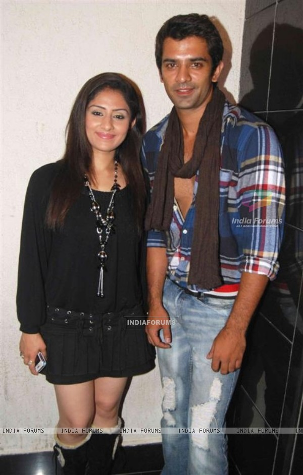 Ankita Sharma and Barun Sobti in Baat Hamari Pakki Hai celebrates its Centenary in Mumbai