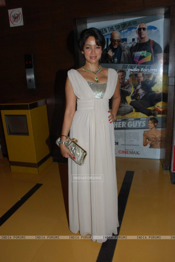 Vidya Malvade at Premiere of Dus Tola at Cinemax, Mumbai (103111)