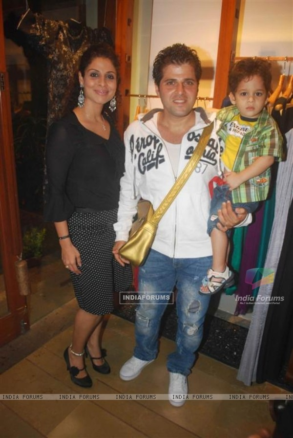 Tanaaz and Bakhtiyaar Irani at Launch Of Gogee-Sharddha-Mayank Designer Wear in Mumbai