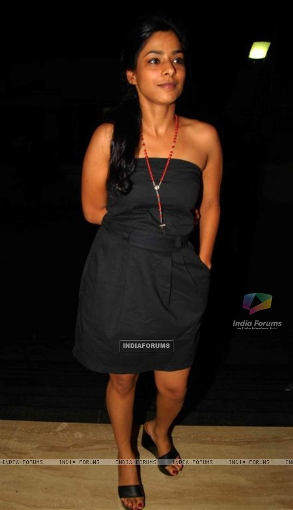 Sugandha Garg at Jhootha Hi Sahi Special Screening at Cinemax, Mumbai