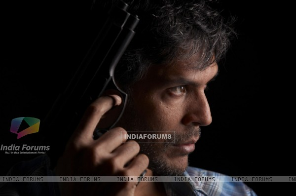 Milind Soman in the movie Nakshatra