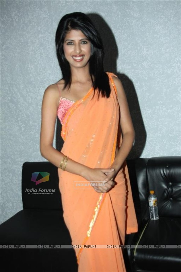 TV actresses on the sets of KBC at Film City