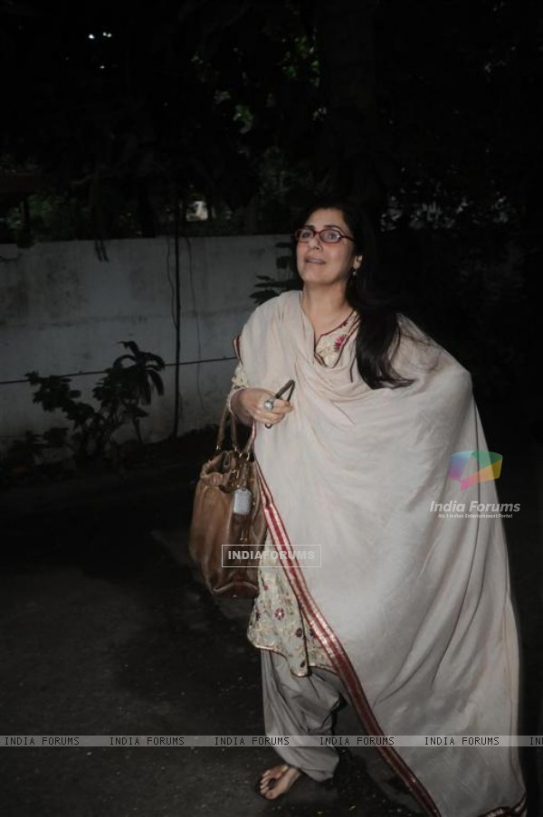 Dimple Kapadia grace Karva Chauth Celebrations at Andheri