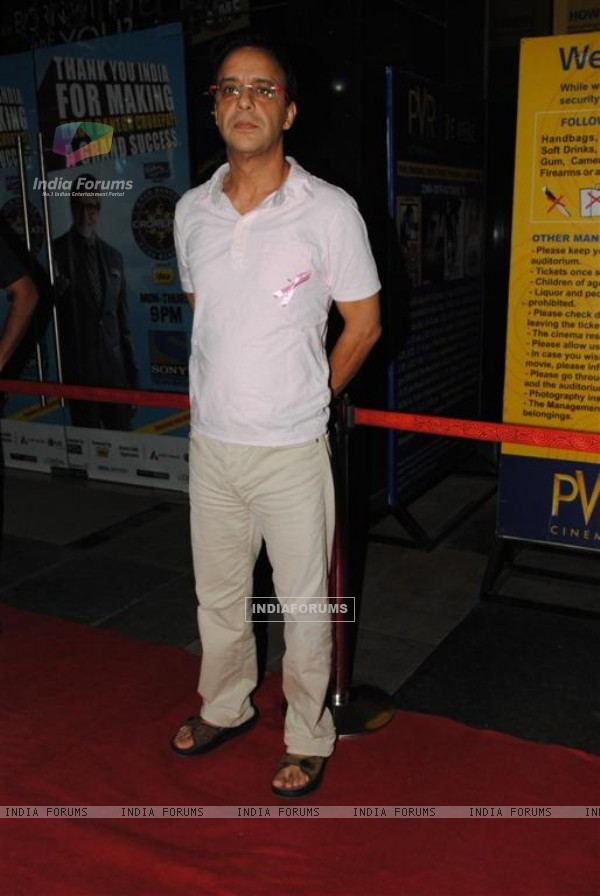 Vidhu Vinod Chopra at Namrata Gujral's 1 A Minute film on breast cancer premiere PVR