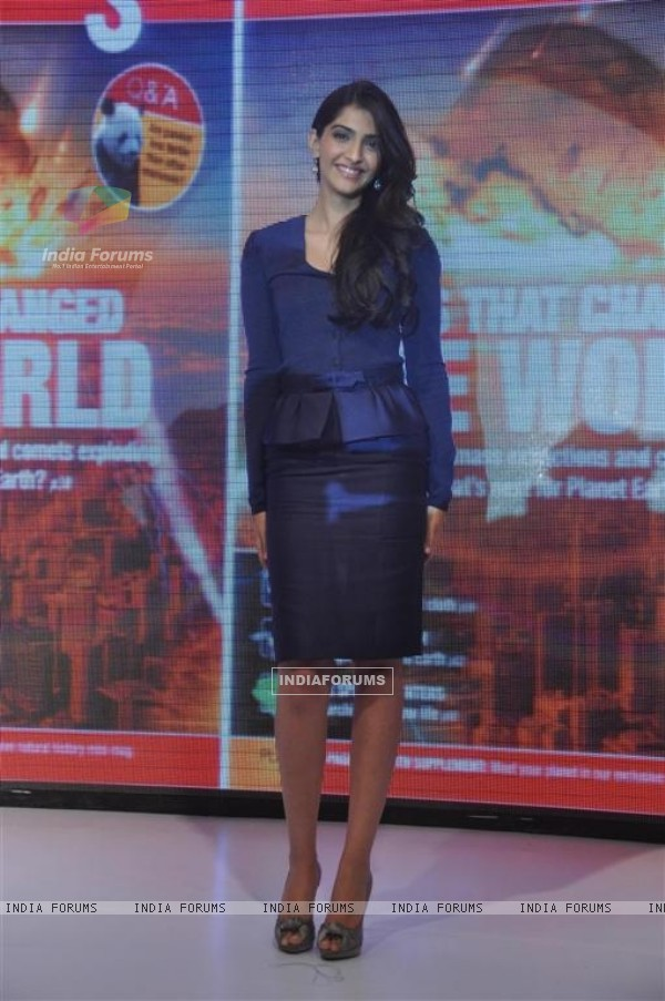 Sonam Kapoor at BBC Knowledge magazine launch at Novotel