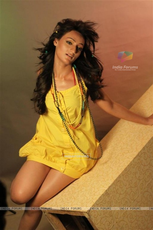 Arshie's glam photo shoot with photographer Vishal Saxena