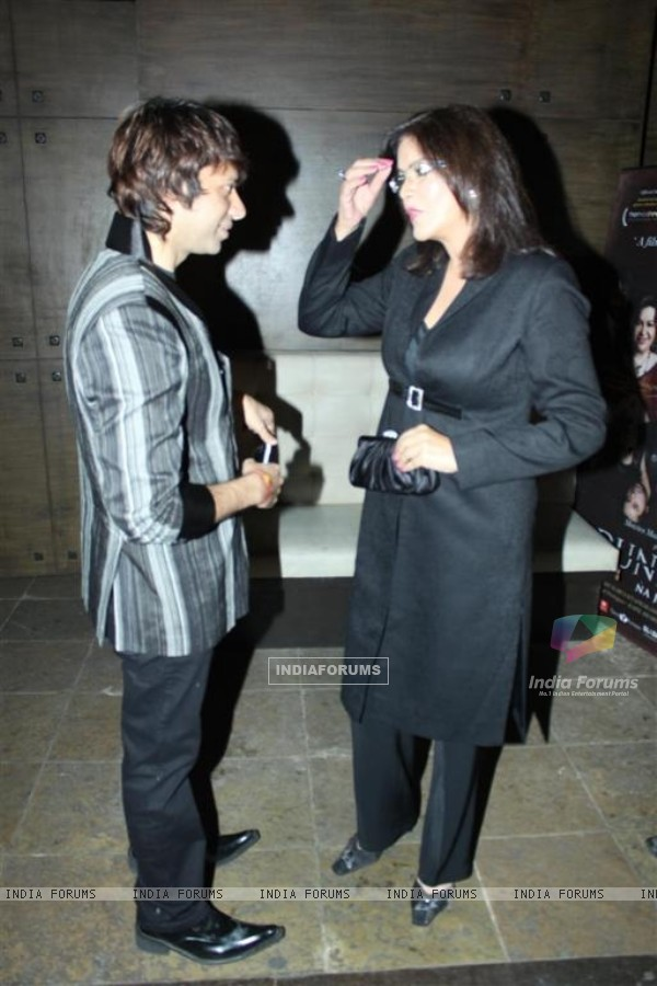 Zeenat Aman at Success party of Dunno Y... Winning Viewers Choice Award (104655)