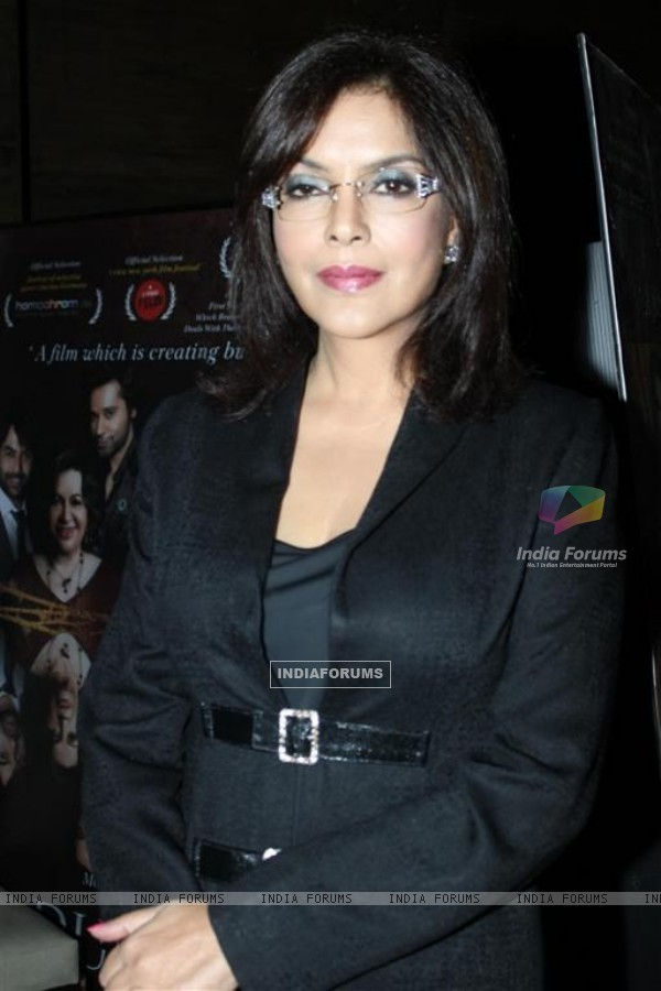 Zeenat Aman at Success party of Dunno Y... Winning Viewers Choice Award (104656)