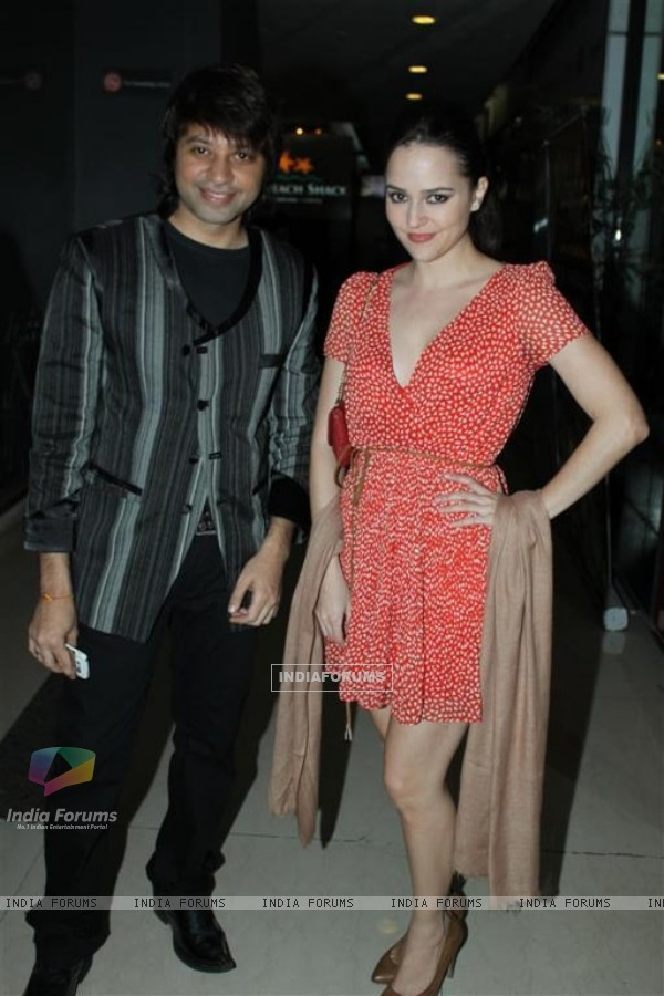 Maradona Rebello and Hazel at Success party of Dunno Y... Winning Viewers Choice Award