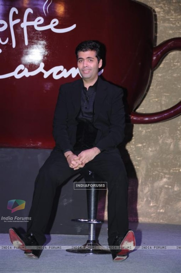 Koffee with Karan Season 3 press meet at Novotel