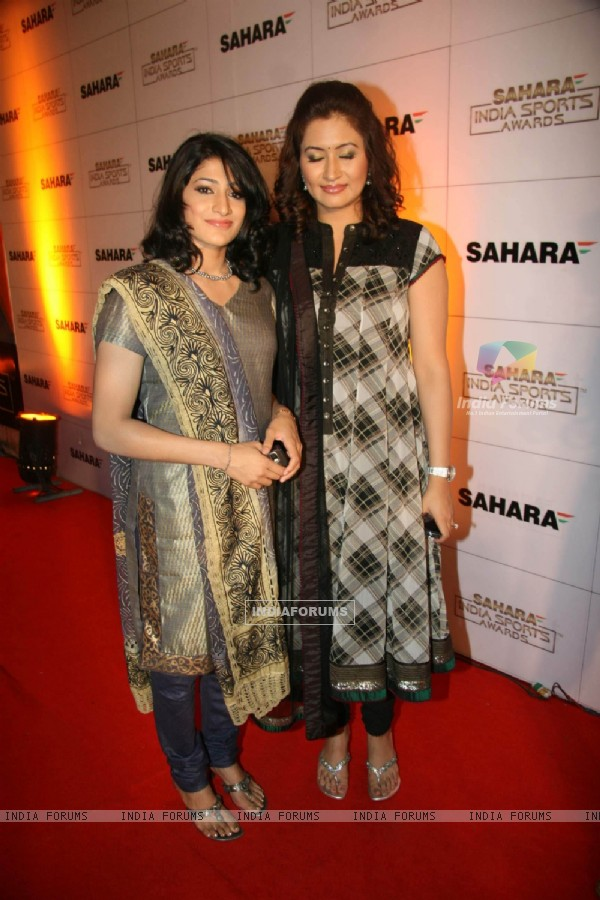 Celebs at Sahara Sports Awards 2010