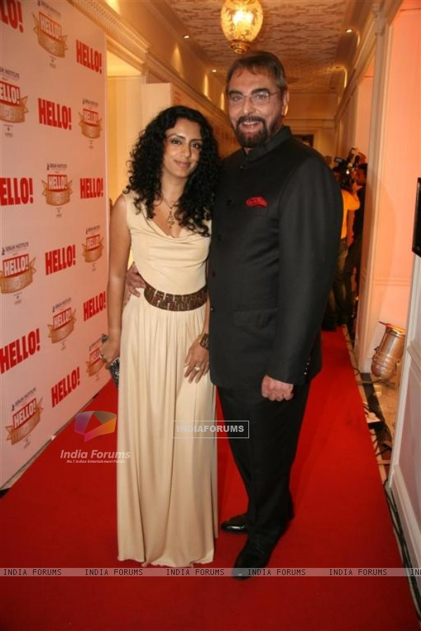 Kabir Bedi at 'Hello! Hall Of Fame' Awards