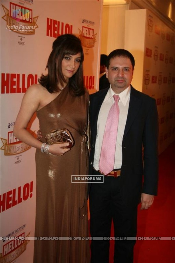 Celebs at 'Hello! Hall Of Fame' Awards