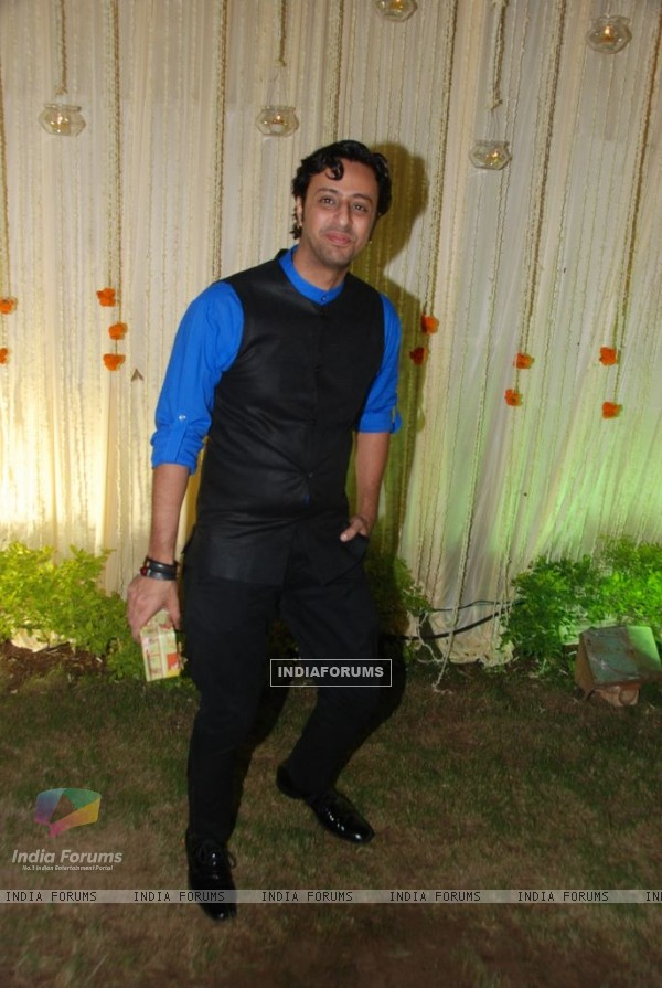 Salim Merchant at Vivek Oberoi's wedding reception at ITC Grand Maratha