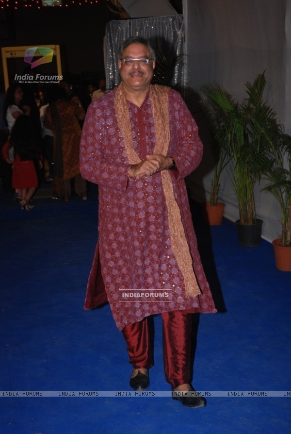 Siddharth Kak at the Star Plus ITA awards Red carpet