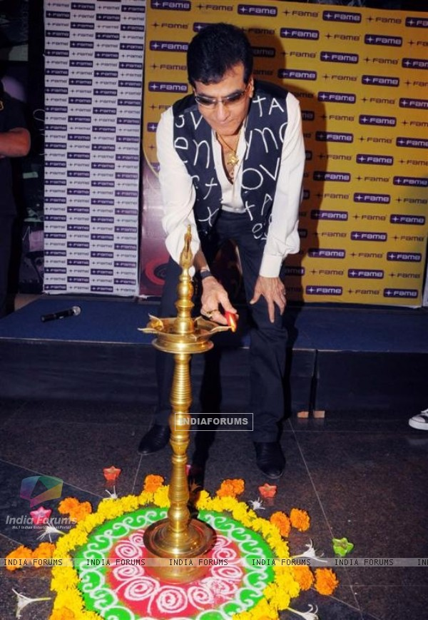 Fame Big Cinemas honours Jeetendra with the Evergreen lantern at Fame Big Cinema in Andheri