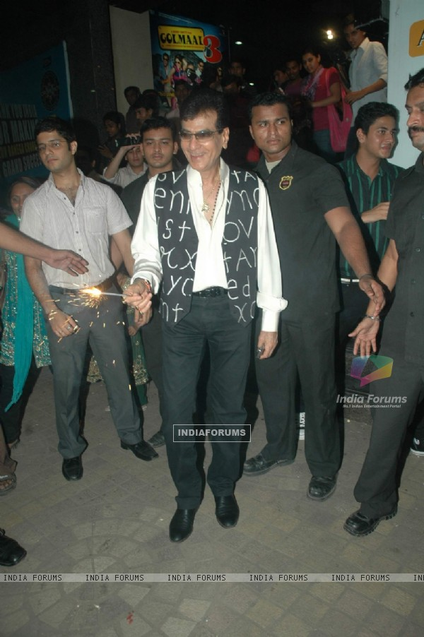 Fame Big Cinema's honours Jeetendra with Evergreen Lantern at  Fame Big Cinema, Andheri