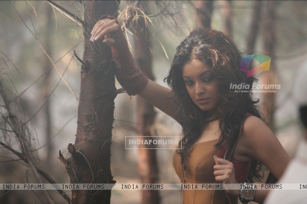 Tanushree Datta in the movie Ramaa - The Saviour