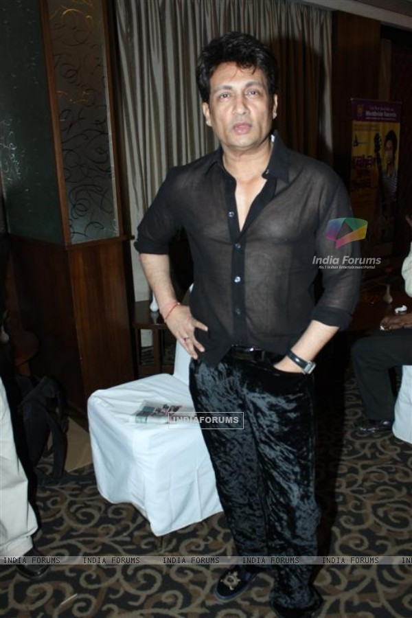 "Shekhar Suman at the album launch of ""Kahan Main Chala"" at Sun N Sand"