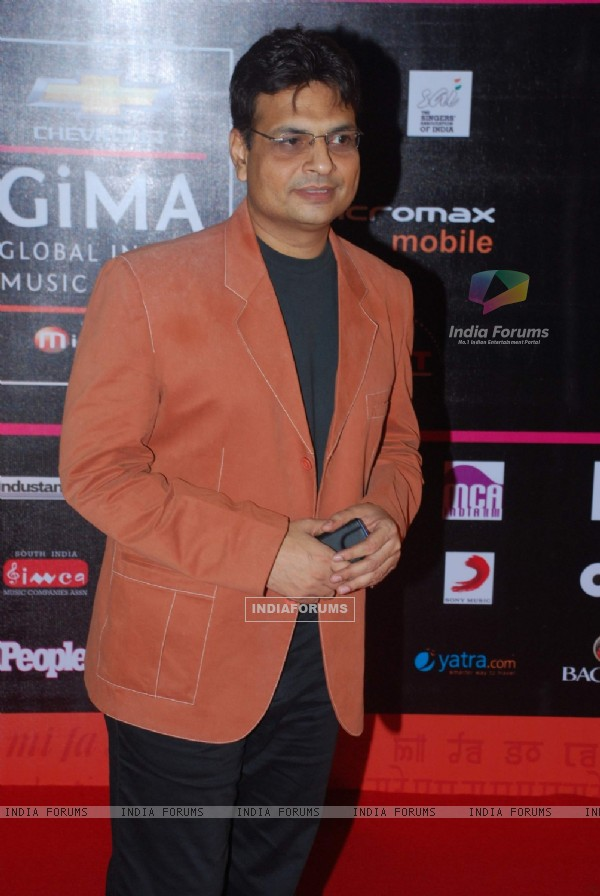 Guest at Global Indian Music Awards on Wednesday night at Yash Raj Studios
