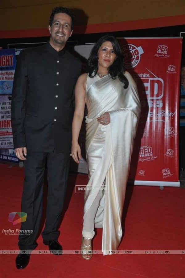 Guest at Global Indian Music Awards at Yash Raj Studios